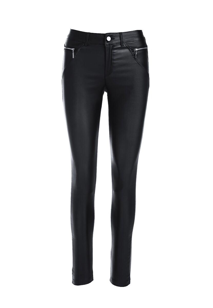 Czarne Spodnie Avah
