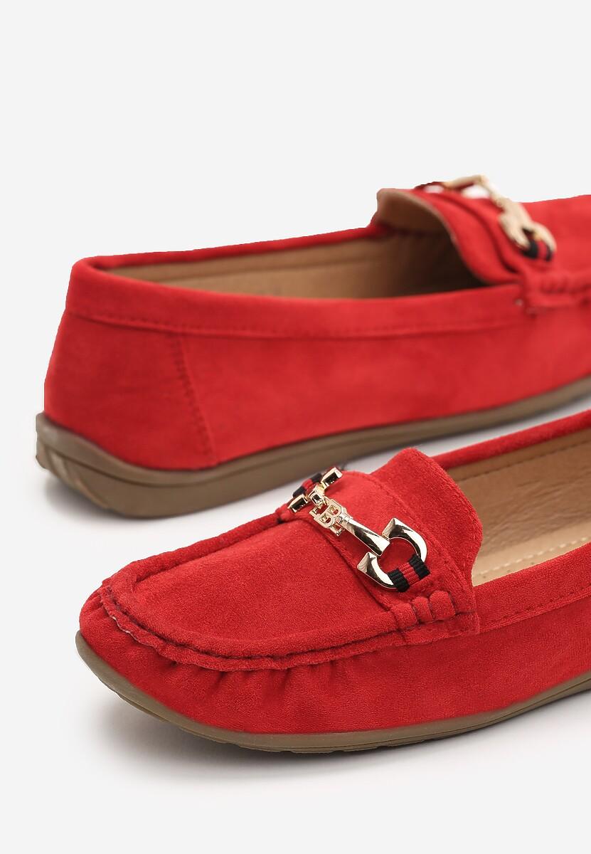 Czerwone Mokasyny Amora