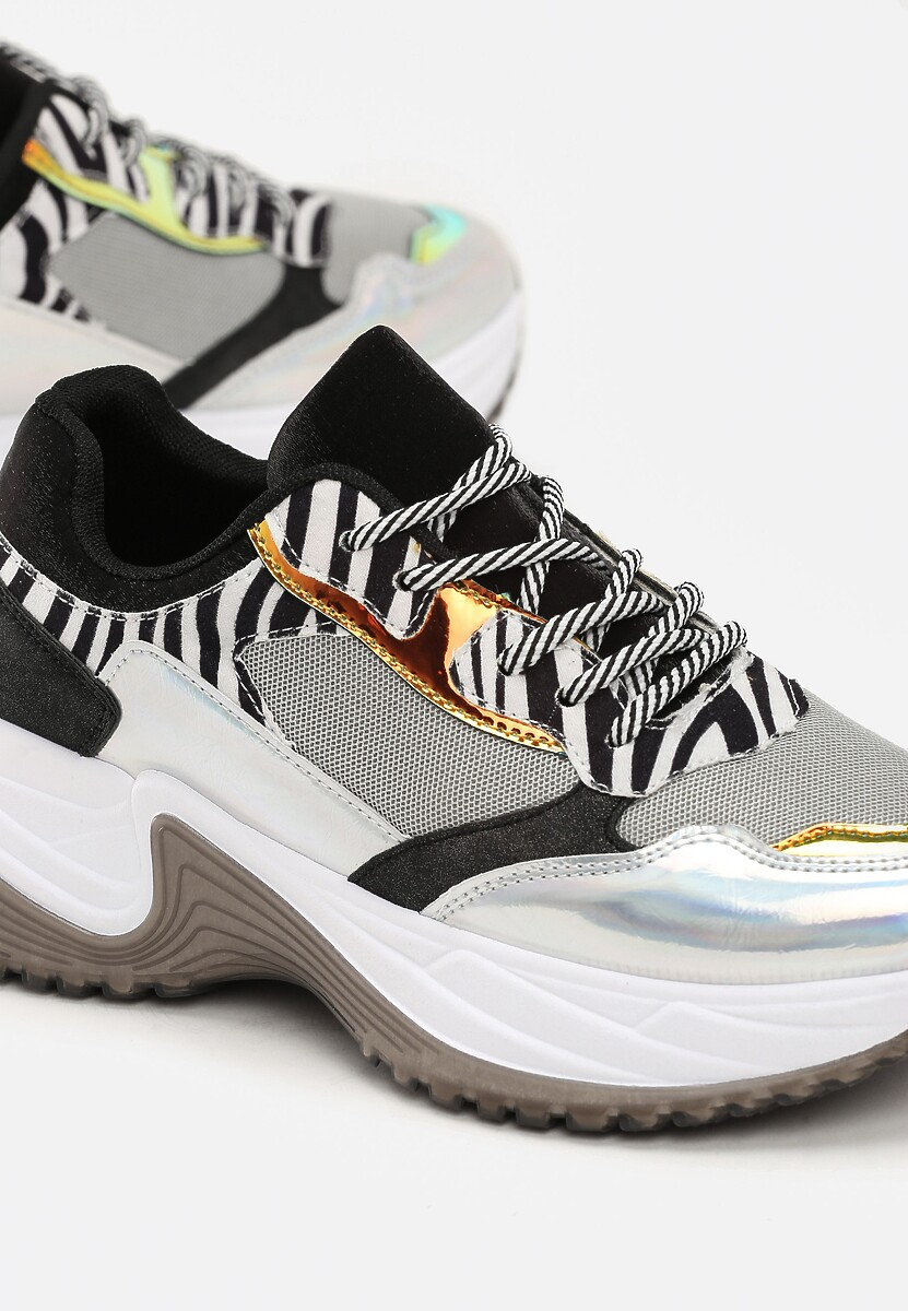 Szare Sneakersy Matilda