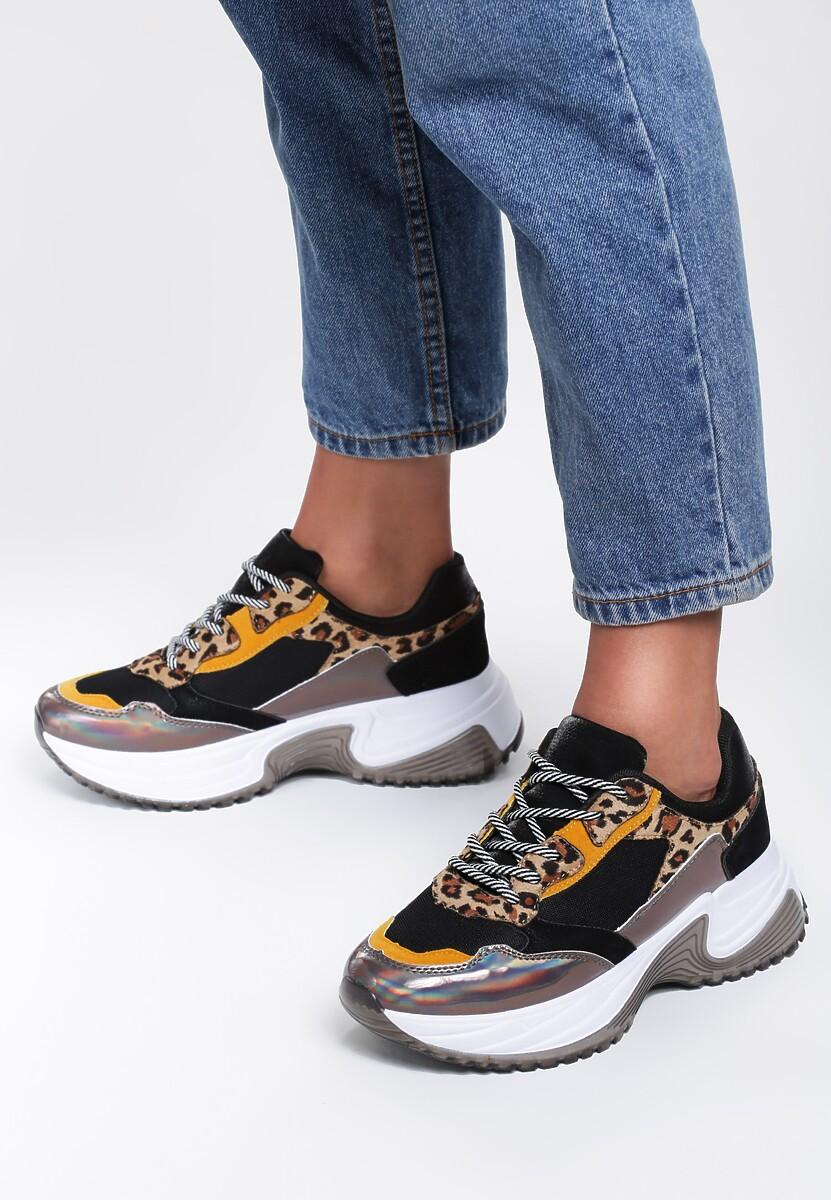 Czarne Sneakersy Matilda