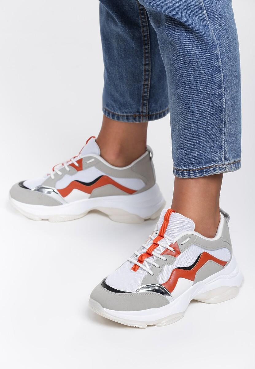 Pomarańczowe Sneakersy Lilith