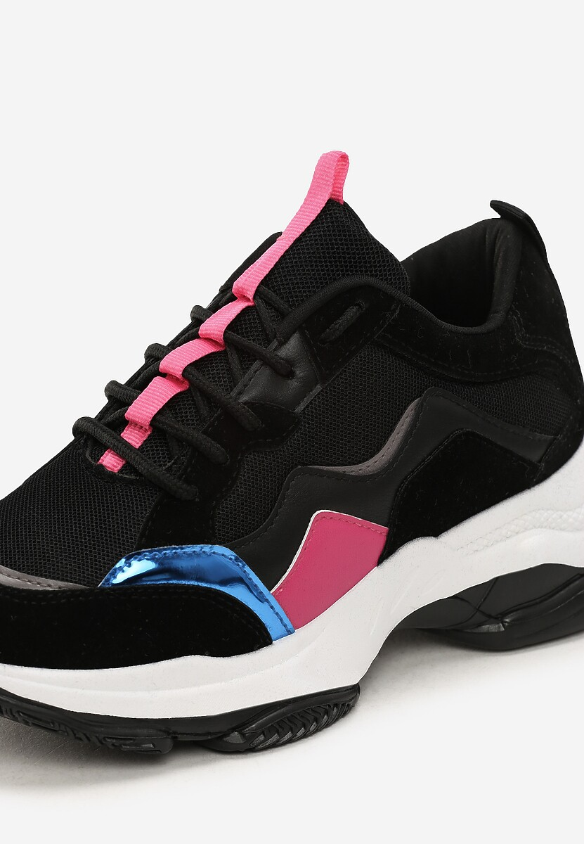 Czarne Sneakersy Lilith