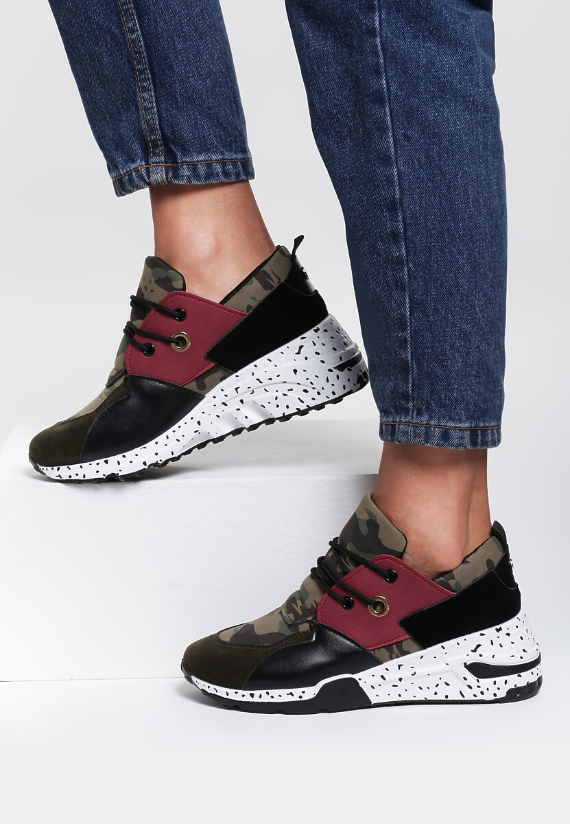 Zielone Sneakersy Meredith