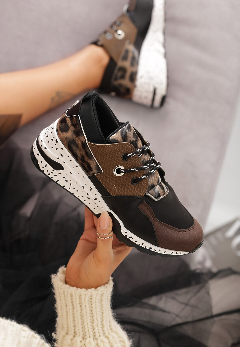 Khaki Sneakersy Meredith