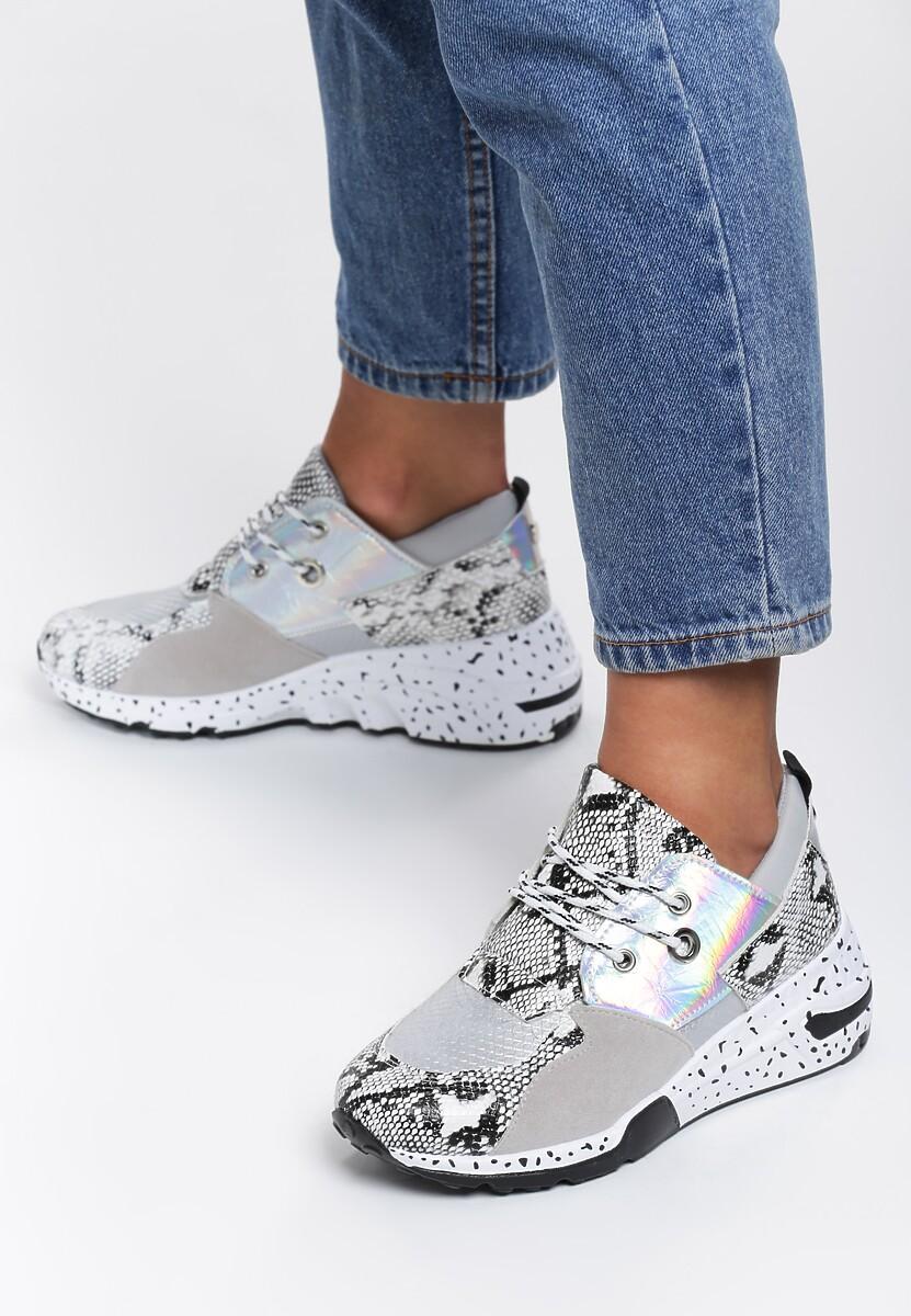 Wężowe Sneakersy Meredith