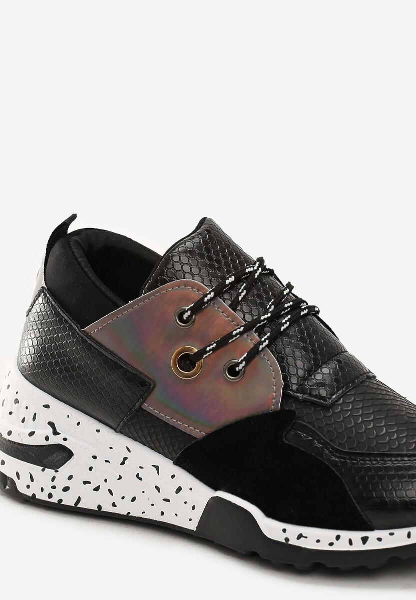 Czarne Sneakersy Meredith