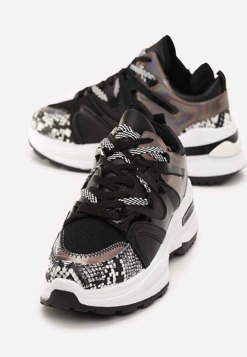 Czarne Sneakersy Braelyn