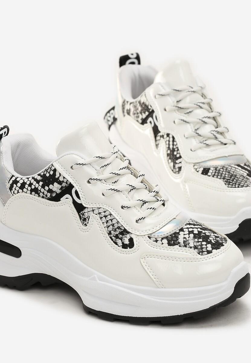 Białe Sneakersy Macy