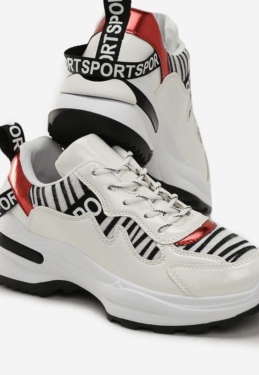 Biało-Czarne Sneakersy Macy