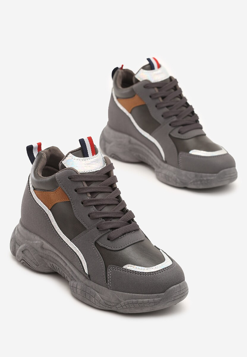 Szare Sneakersy Itzel