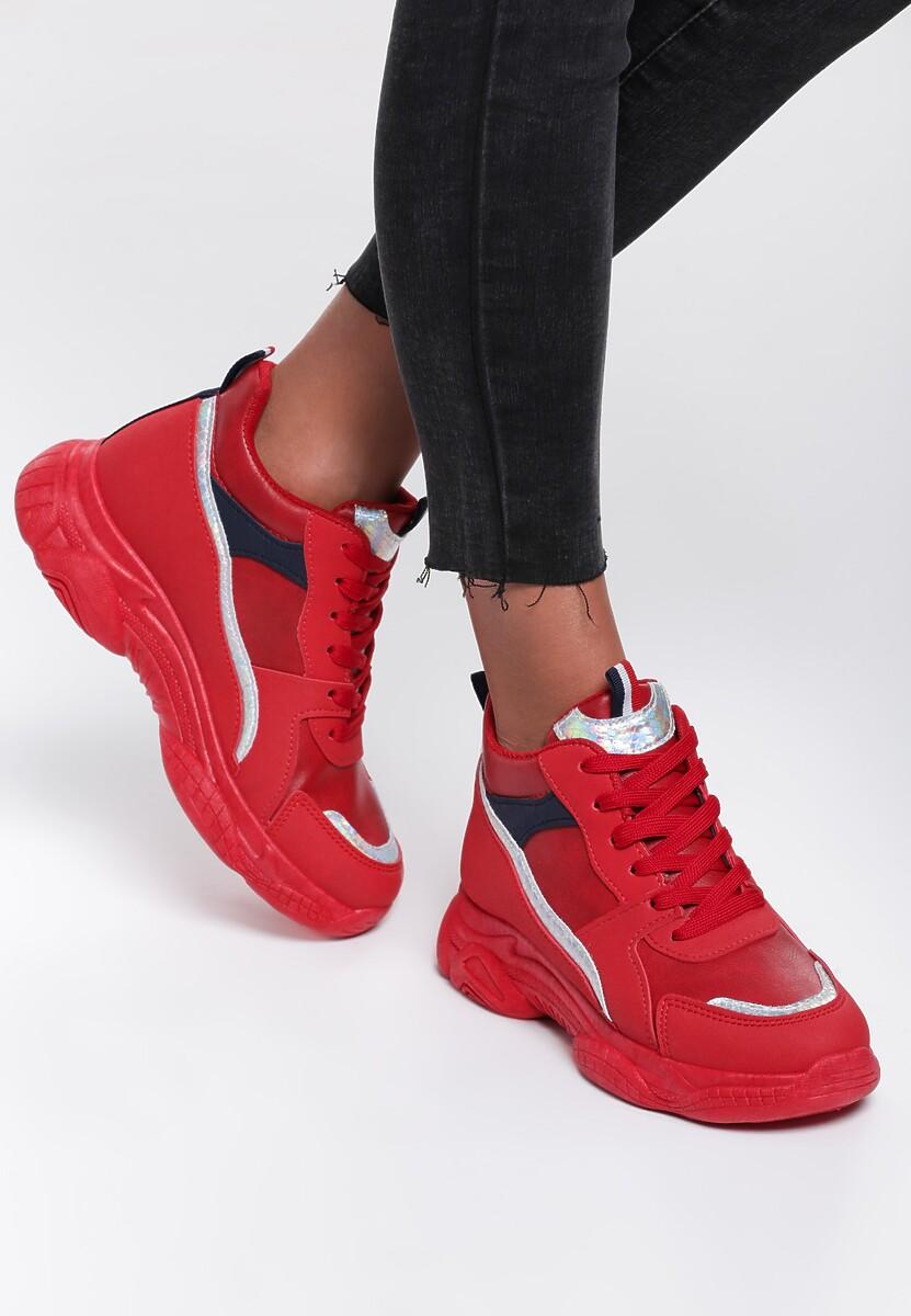 Czerwone Sneakersy Itzel