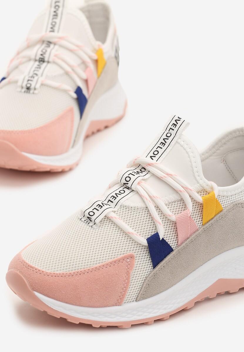 Różowe Sneakersy Marie