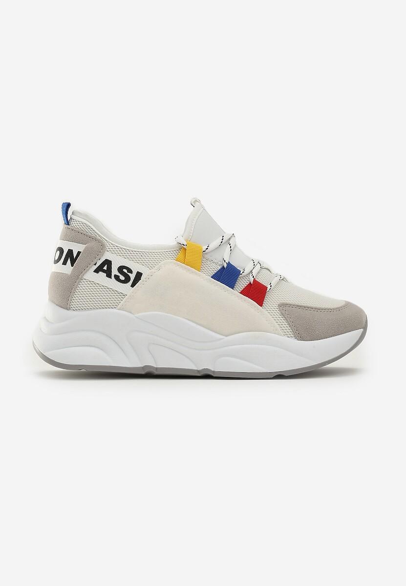 Biało-Szare Sneakersy Alaia