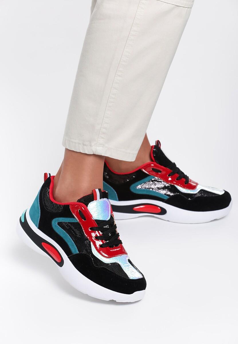 Czarne Sneakersy Rebekah