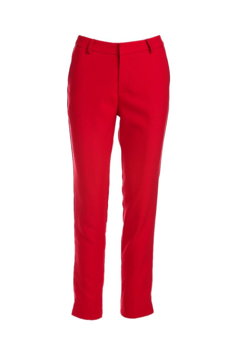 Czerwone Spodnie Amaranth
