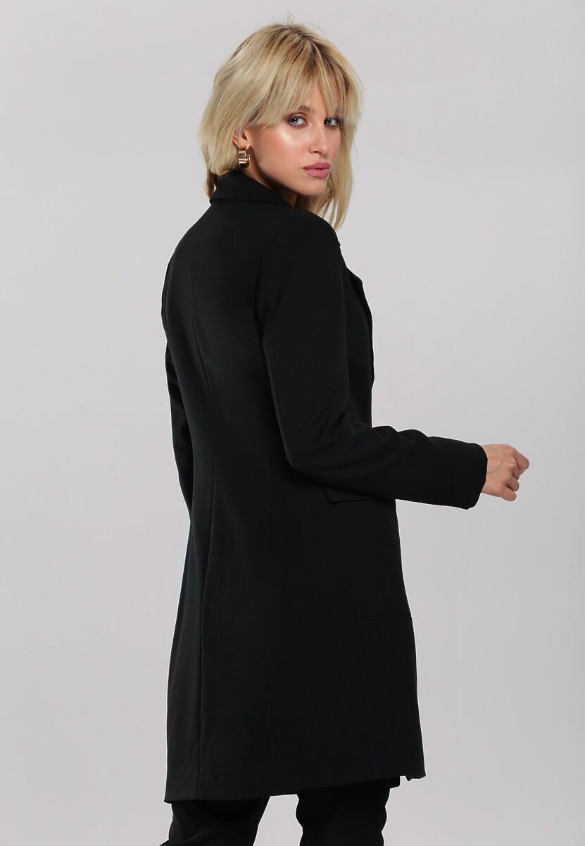 Czarny Płaszcz Ronnie