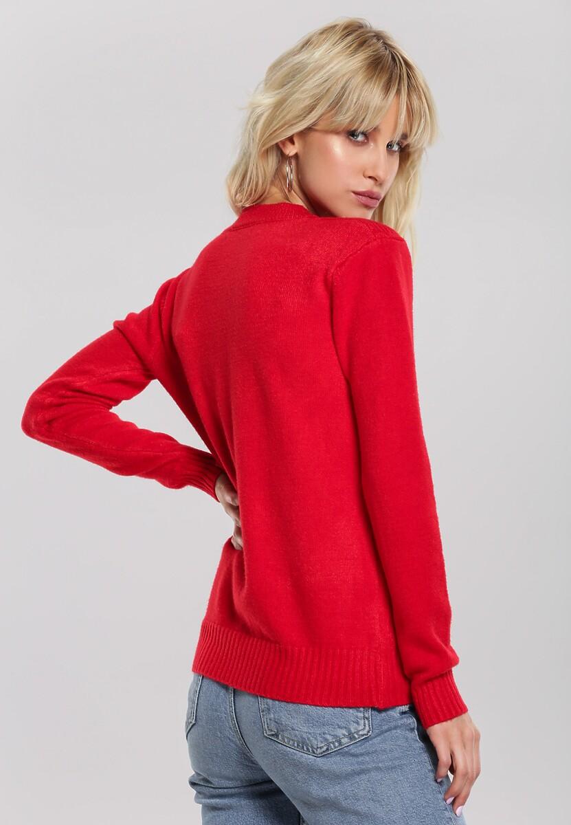 Czerwony Sweter Banyan