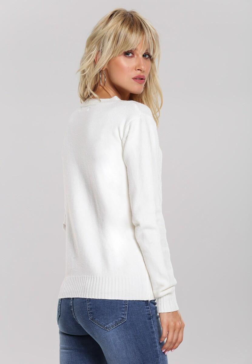 Kremowy Sweter Banyan