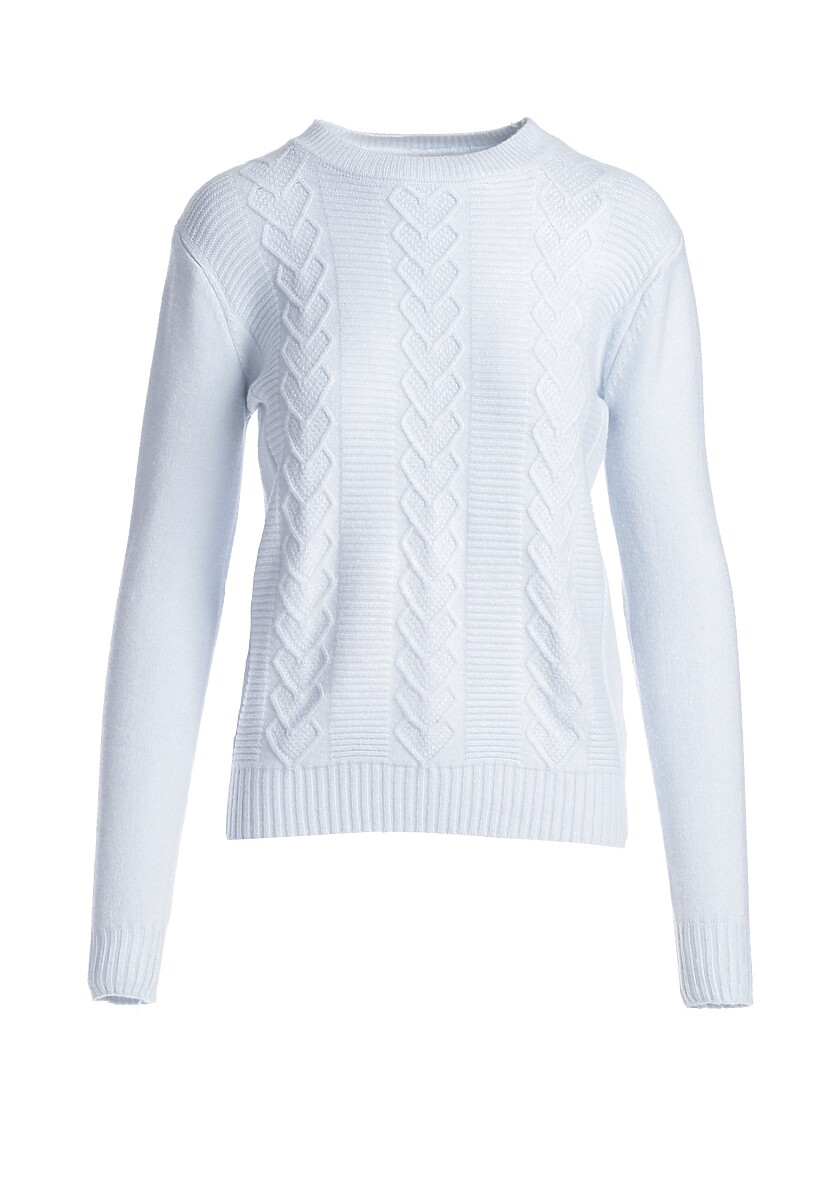 Jasnoniebieski Sweter Banyan