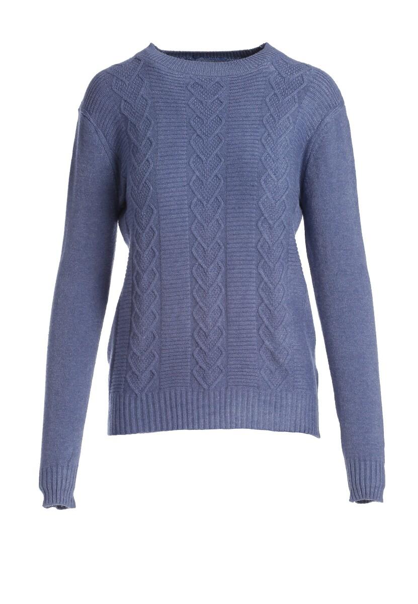Niebieski Sweter Banyan