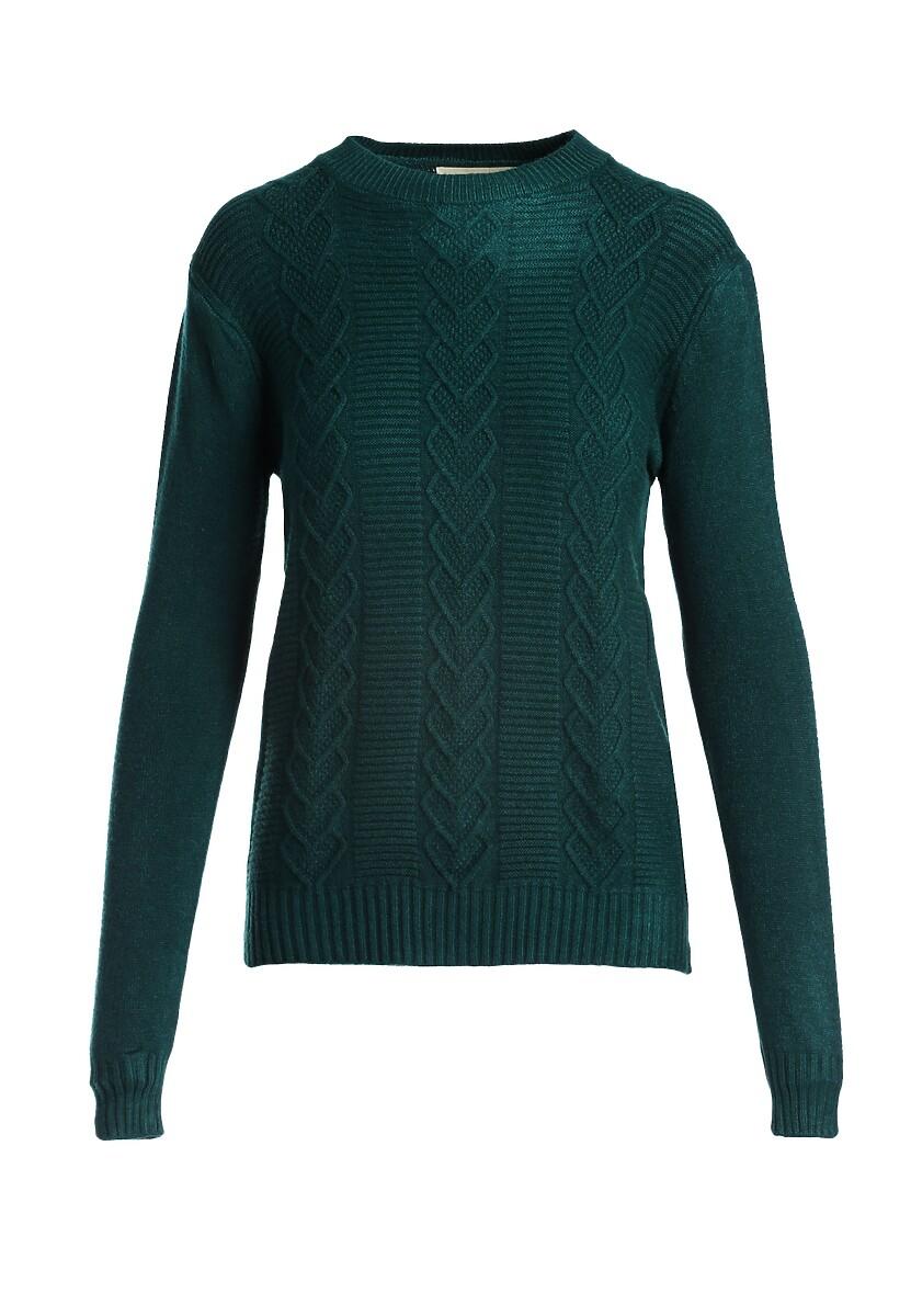 Zielony Sweter Banyan