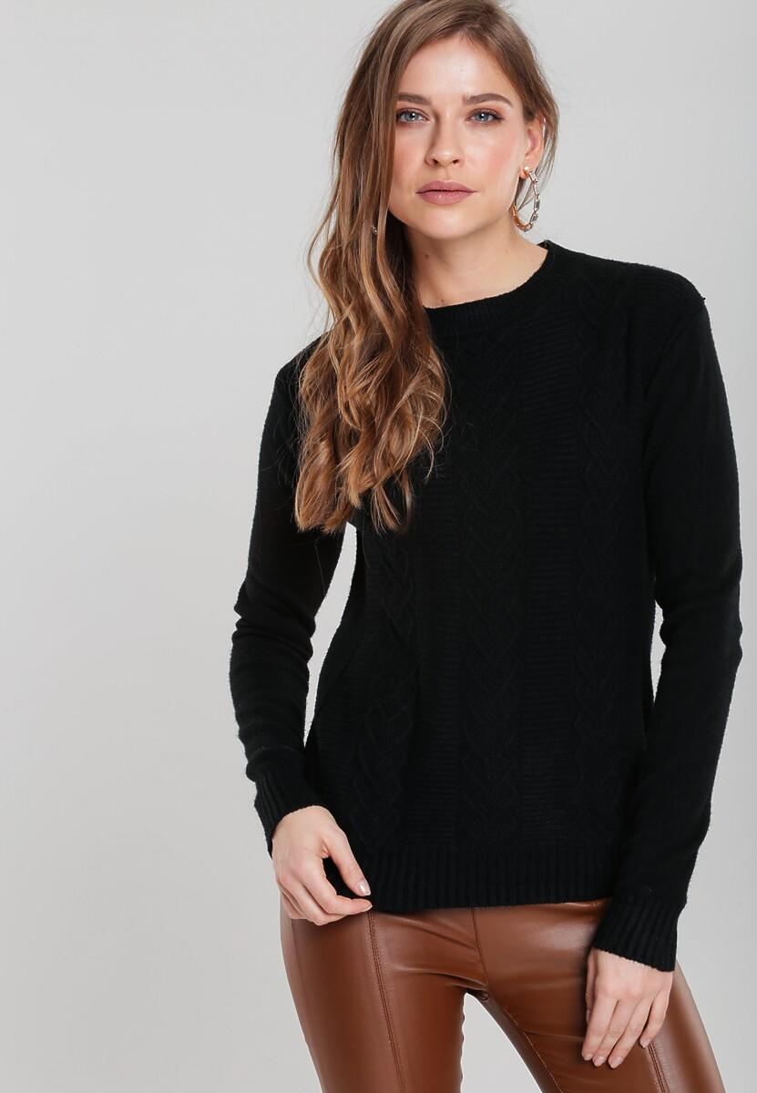 Czarny Sweter Banyan