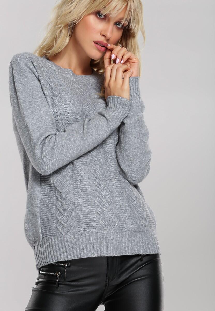 Szary Sweter Banyan