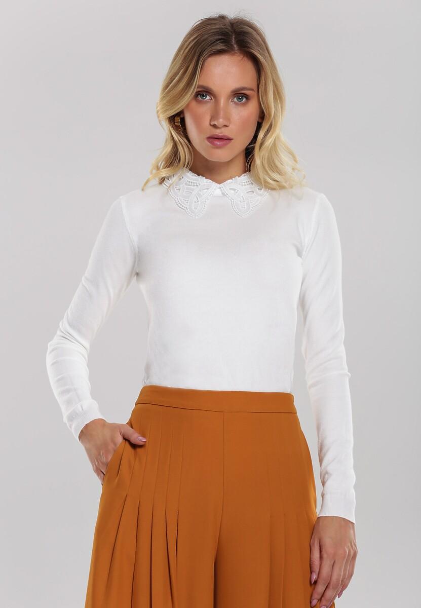 Biały Sweter Valley Girl
