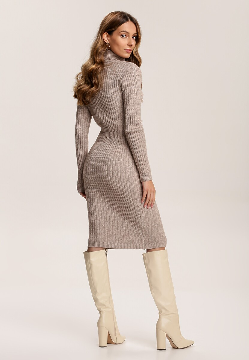 Beżowa Sukienka Rylan