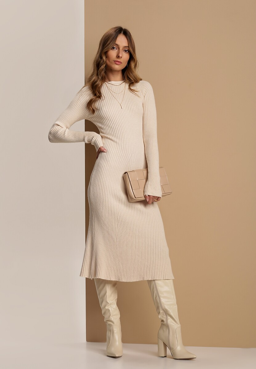 Kremowa Sukienka Aerin