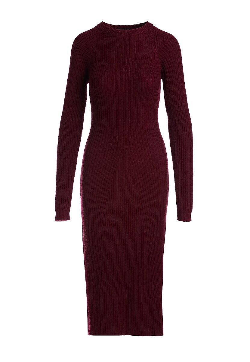 Bordowa Sukienka Aerin