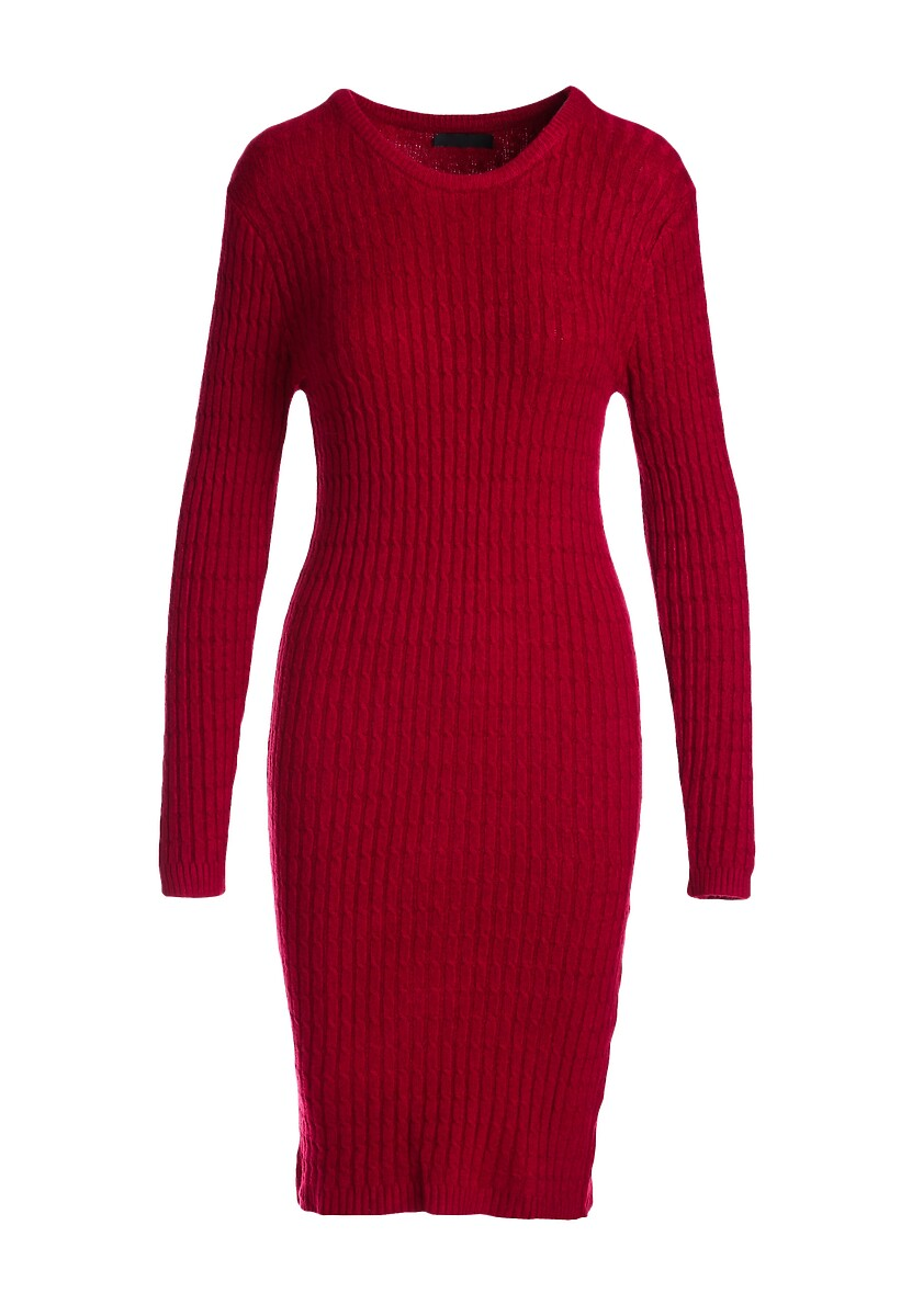 Bordowa Sukienka Feel It