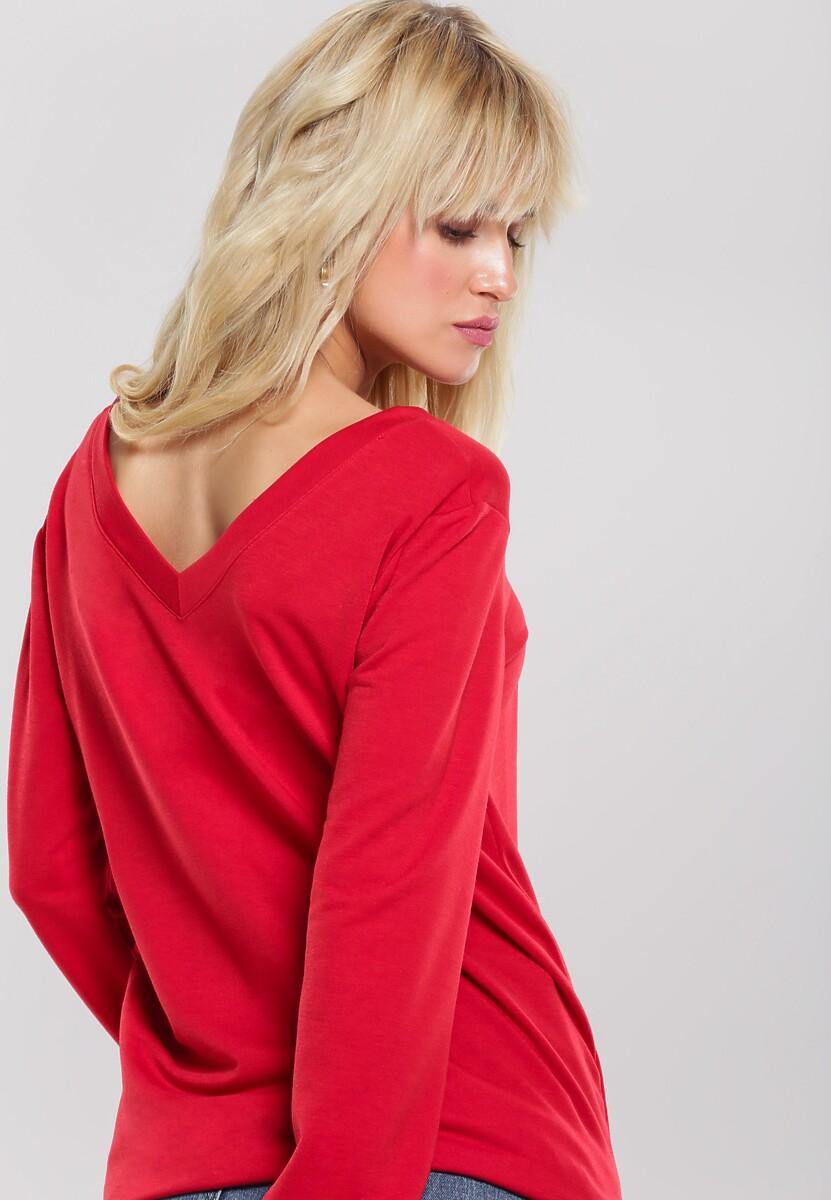 Czerwona Bluza Avaunt