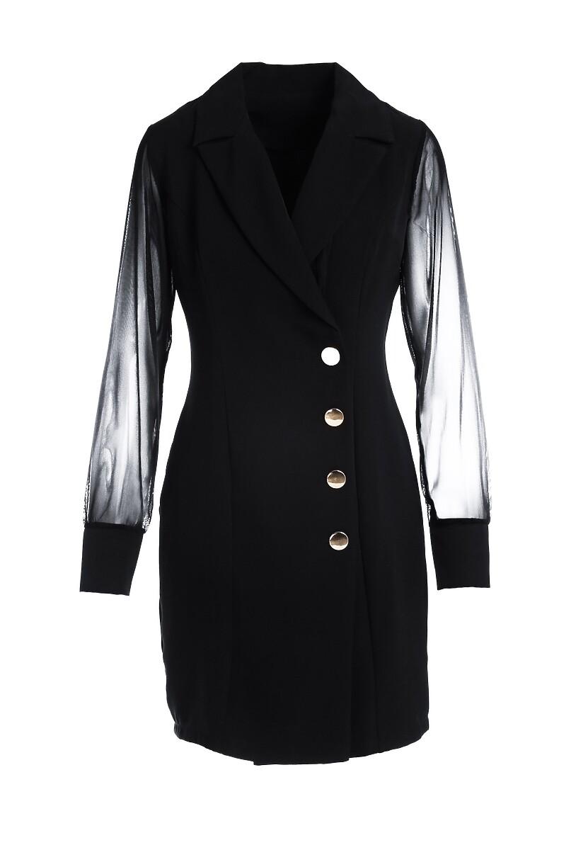 Czarna Sukienka Fizgig