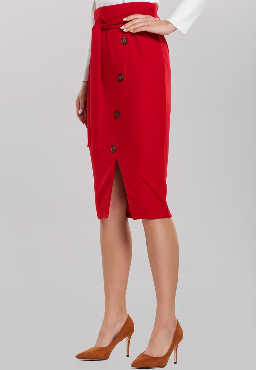 Czerwona Spódnica Baseborn
