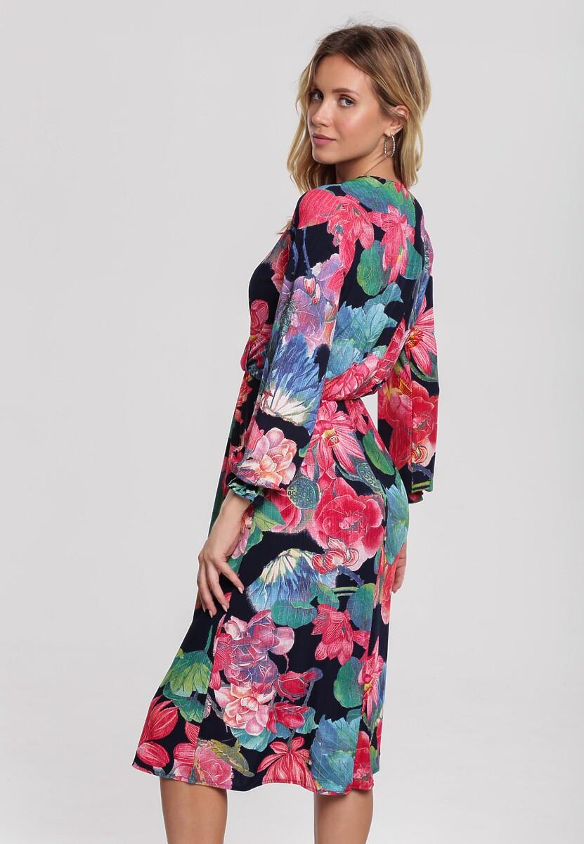 Granatowa Sukienka Alperton