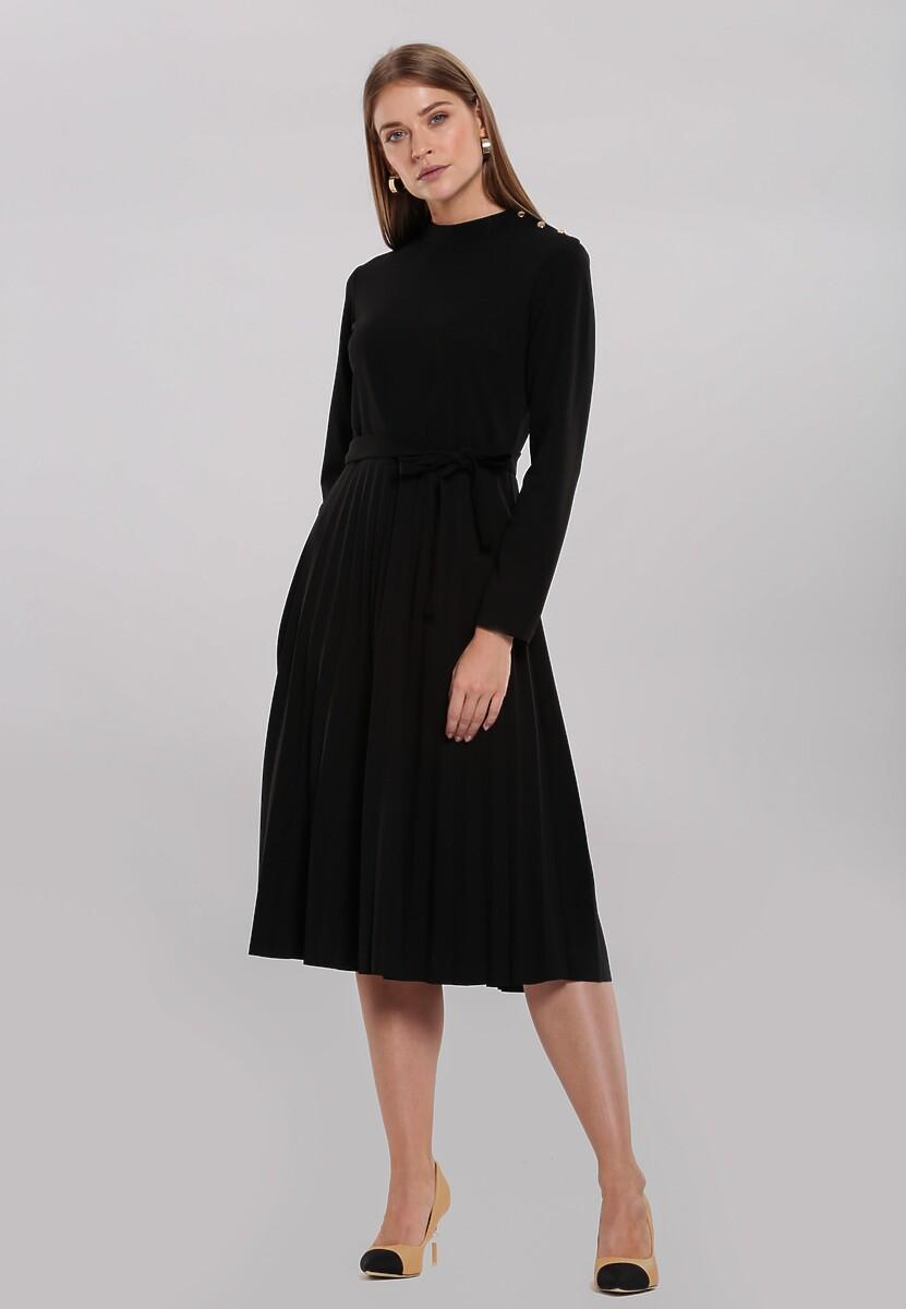 Czarna Sukienka Beaumont