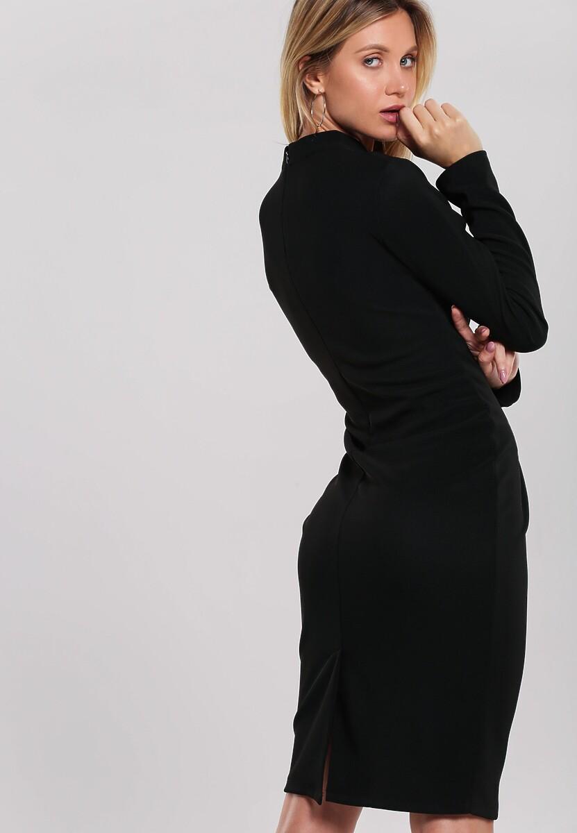 Czarna Sukienka Behoof