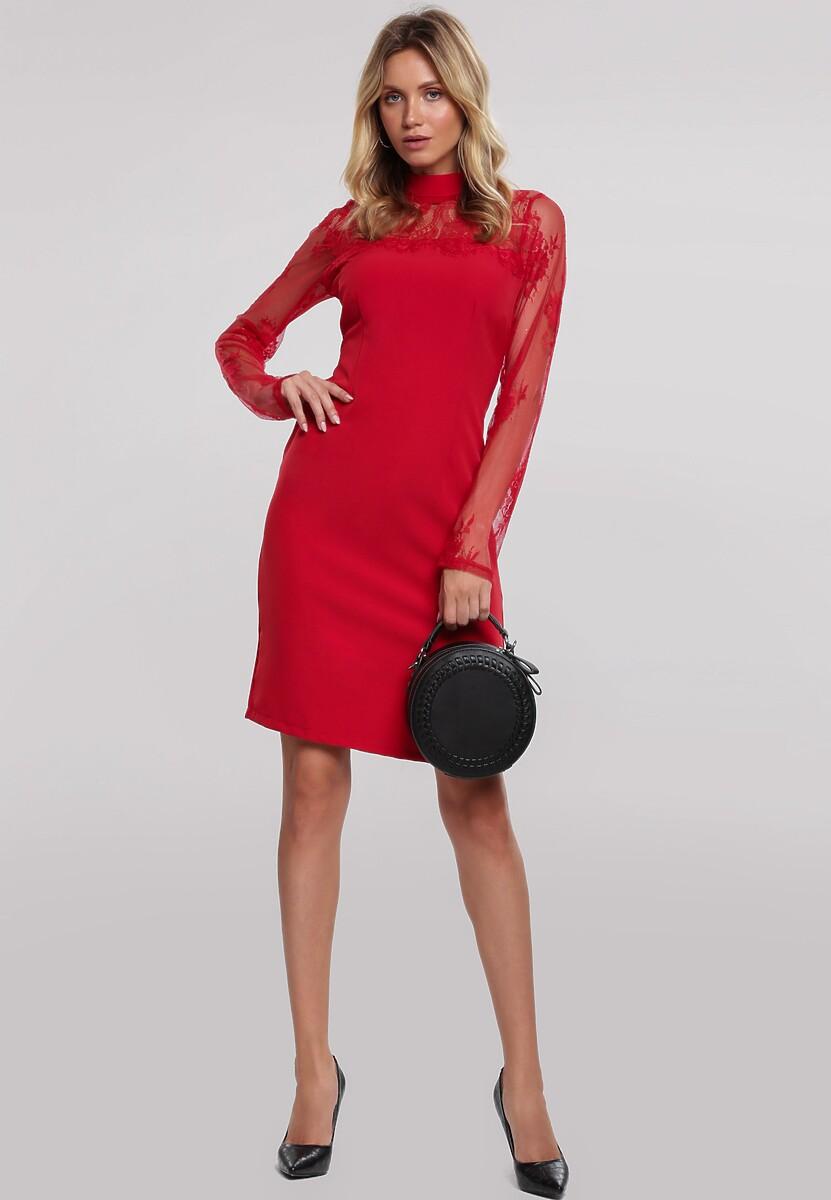Czerwona Sukienka Ardleigh