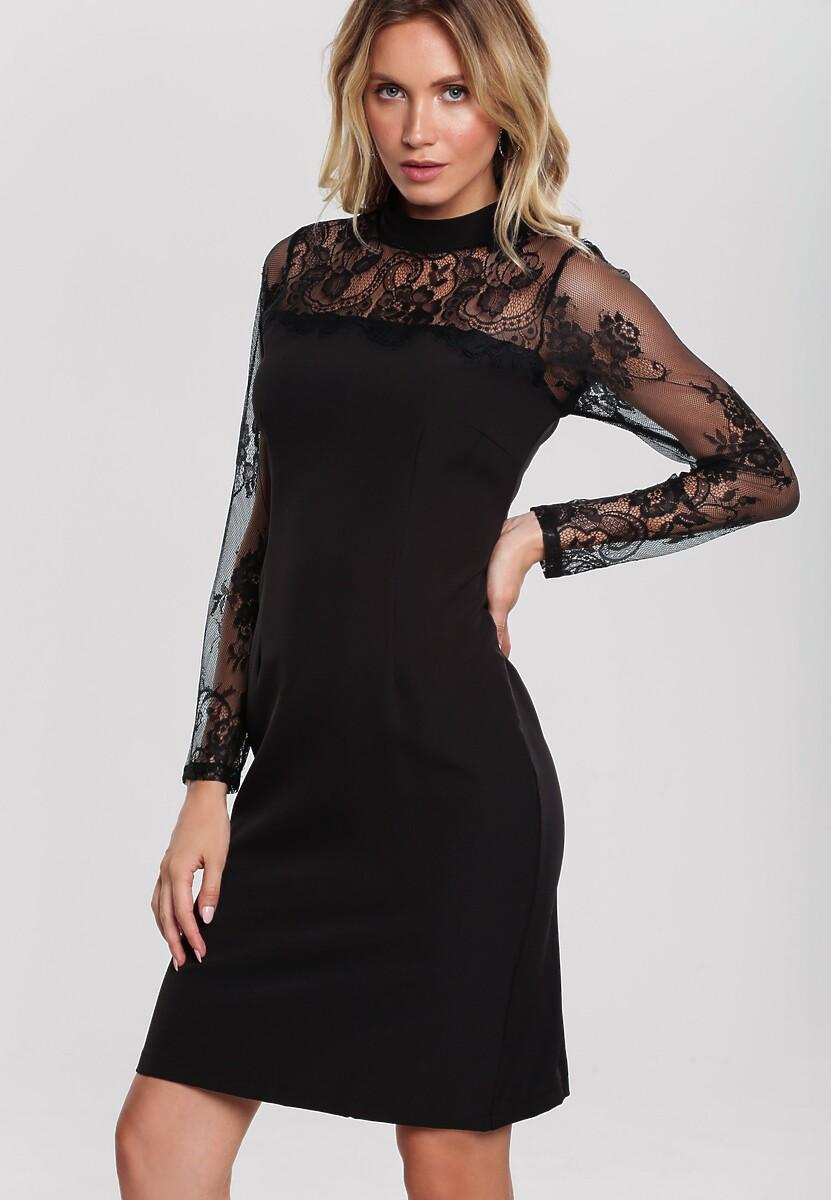 Czarna Sukienka Ardleigh