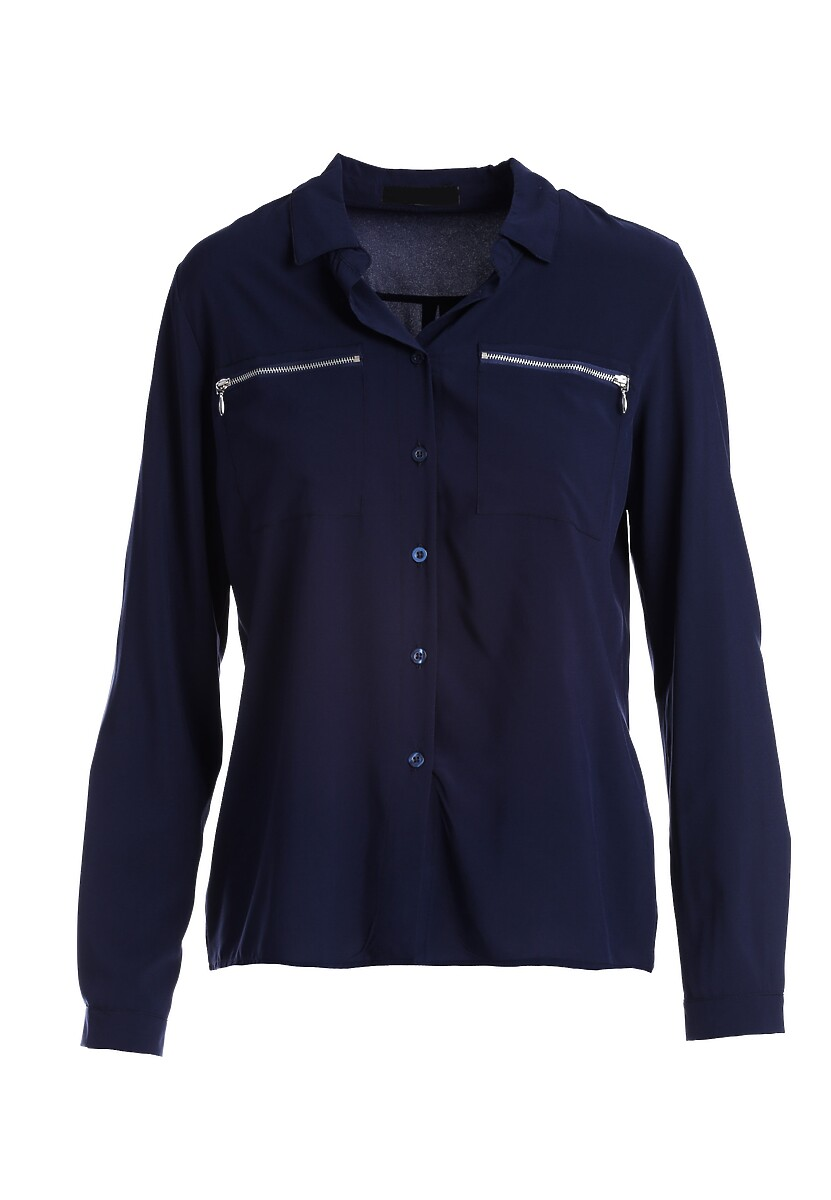 Ciemnoniebieska Koszula Pearland
