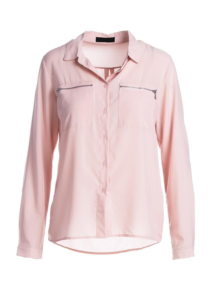 Jasnoróżowa Koszula Pearland