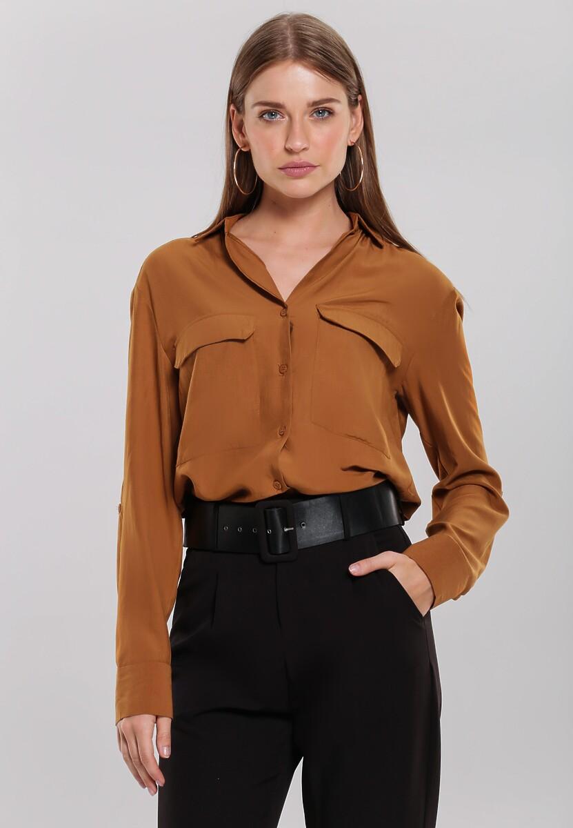Brązowa Koszula Scalable