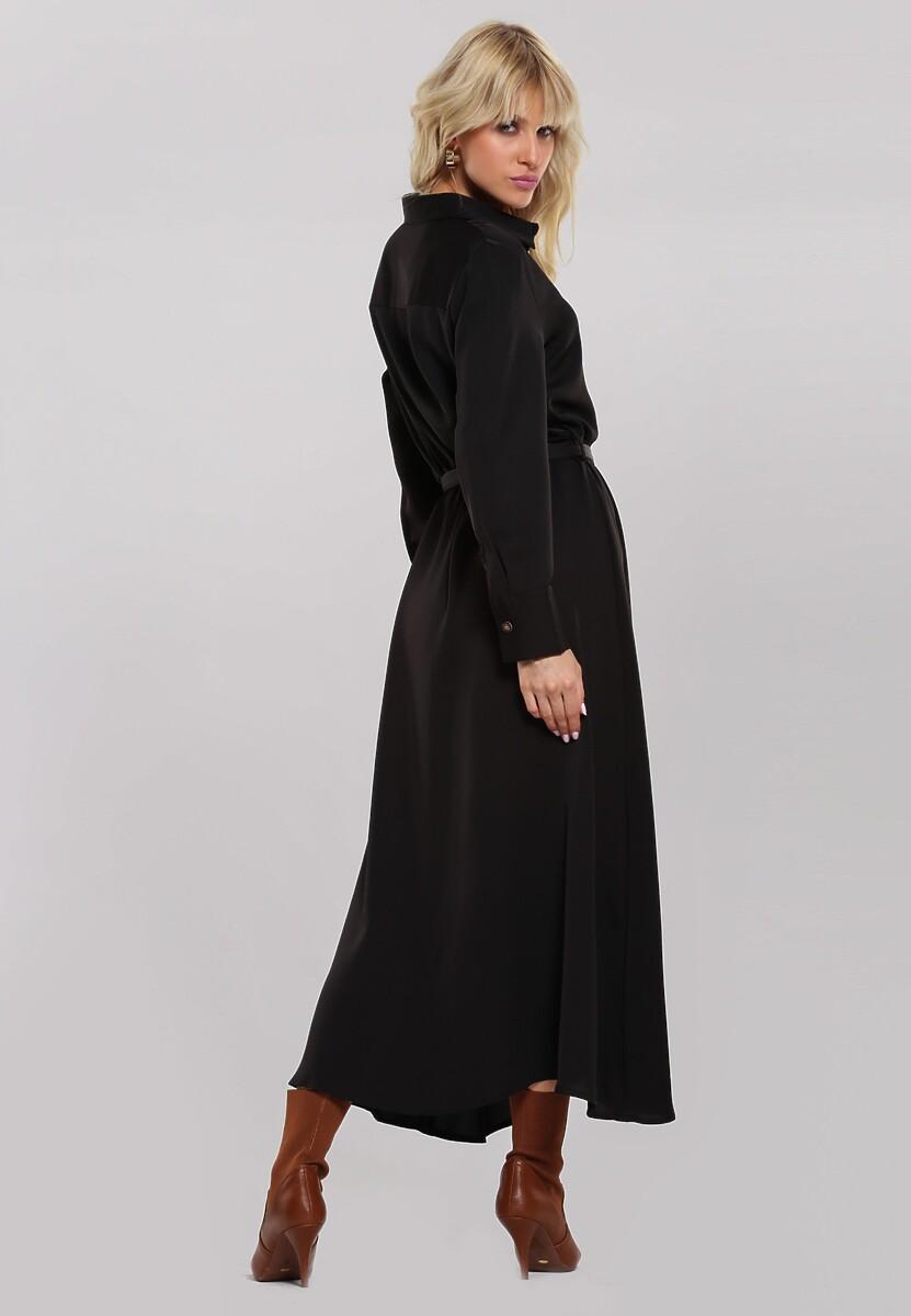 Czarna Sukienka Forsooth