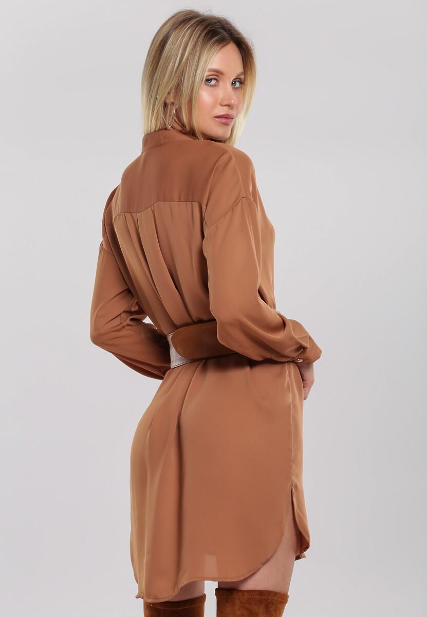 Camelowa Koszula Bijoux