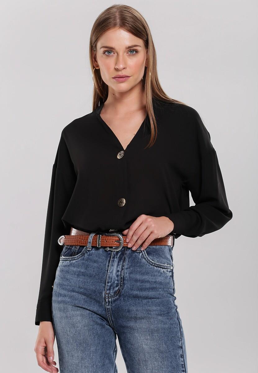 Czarna Koszula Bijoux