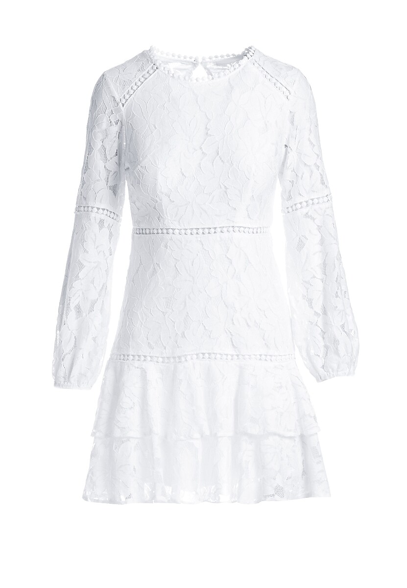Biała Sukienka Jakes