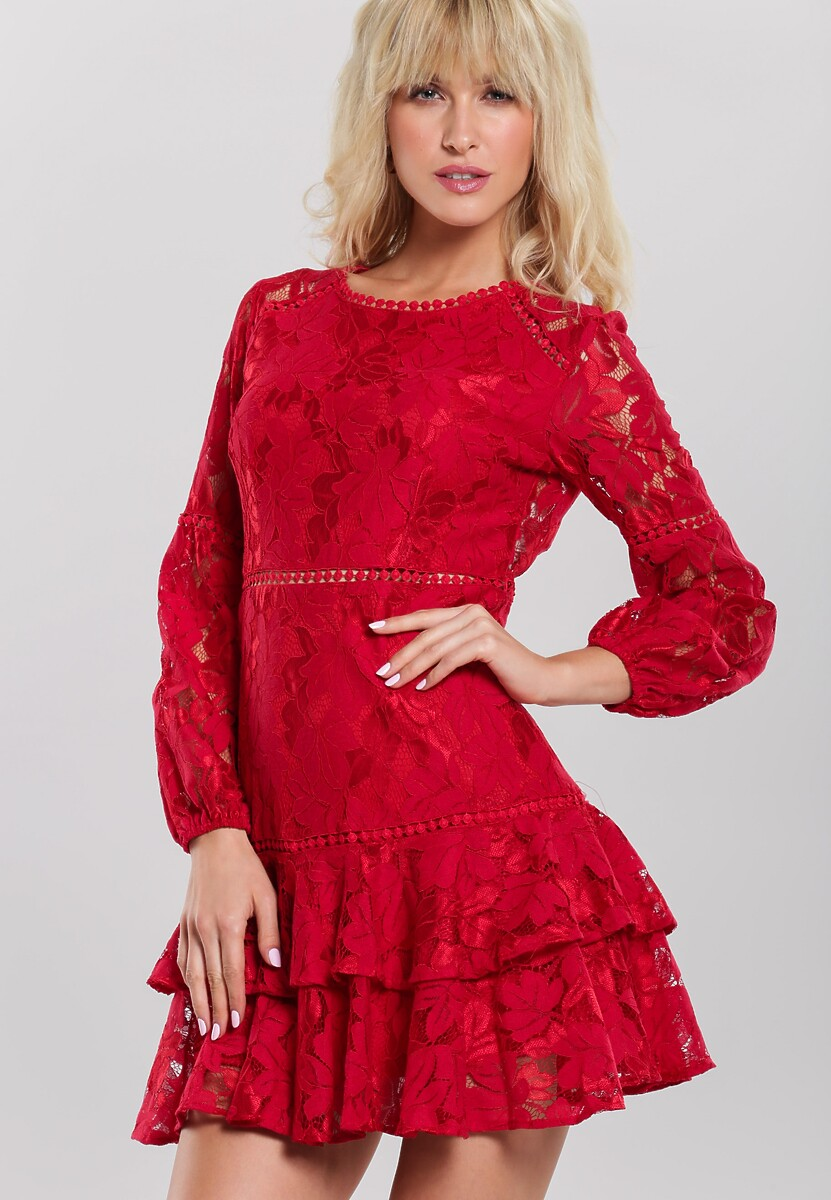 Czerwona Sukienka Jakes