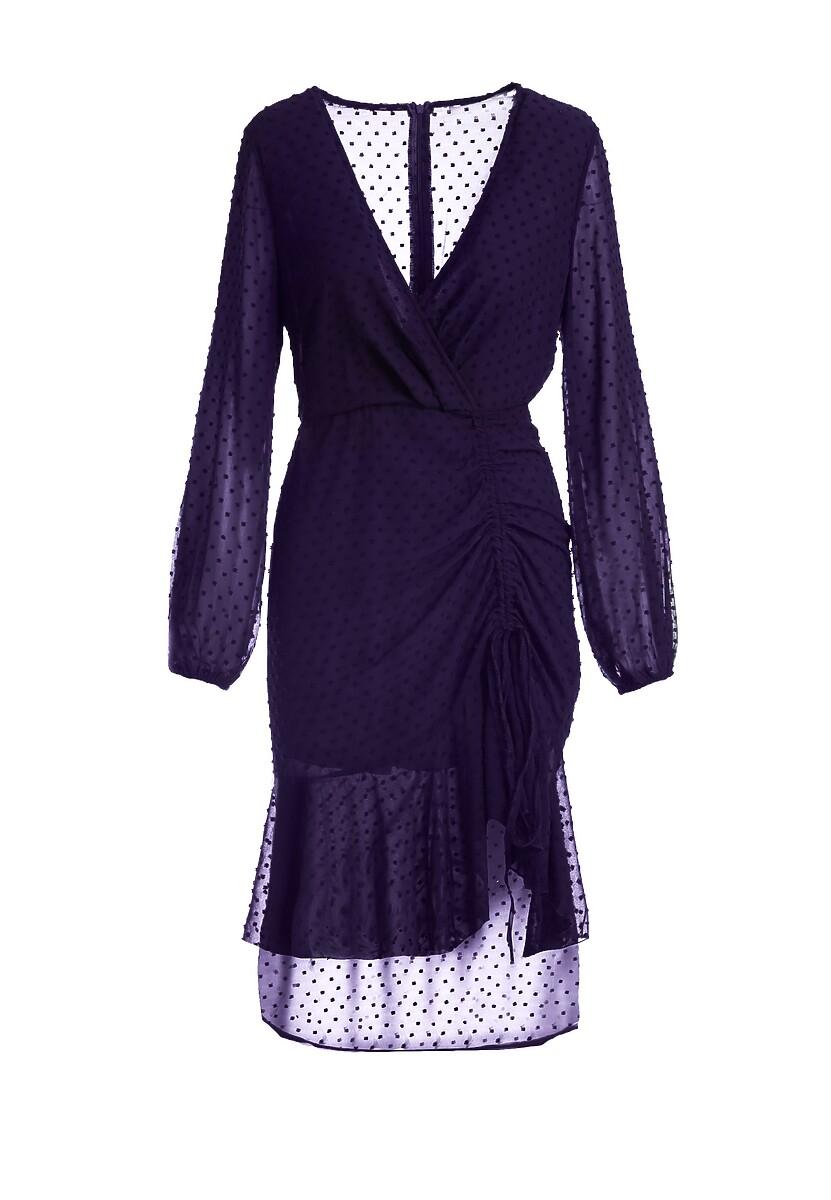 Ciemnofioletowa Sukienka Kirtle