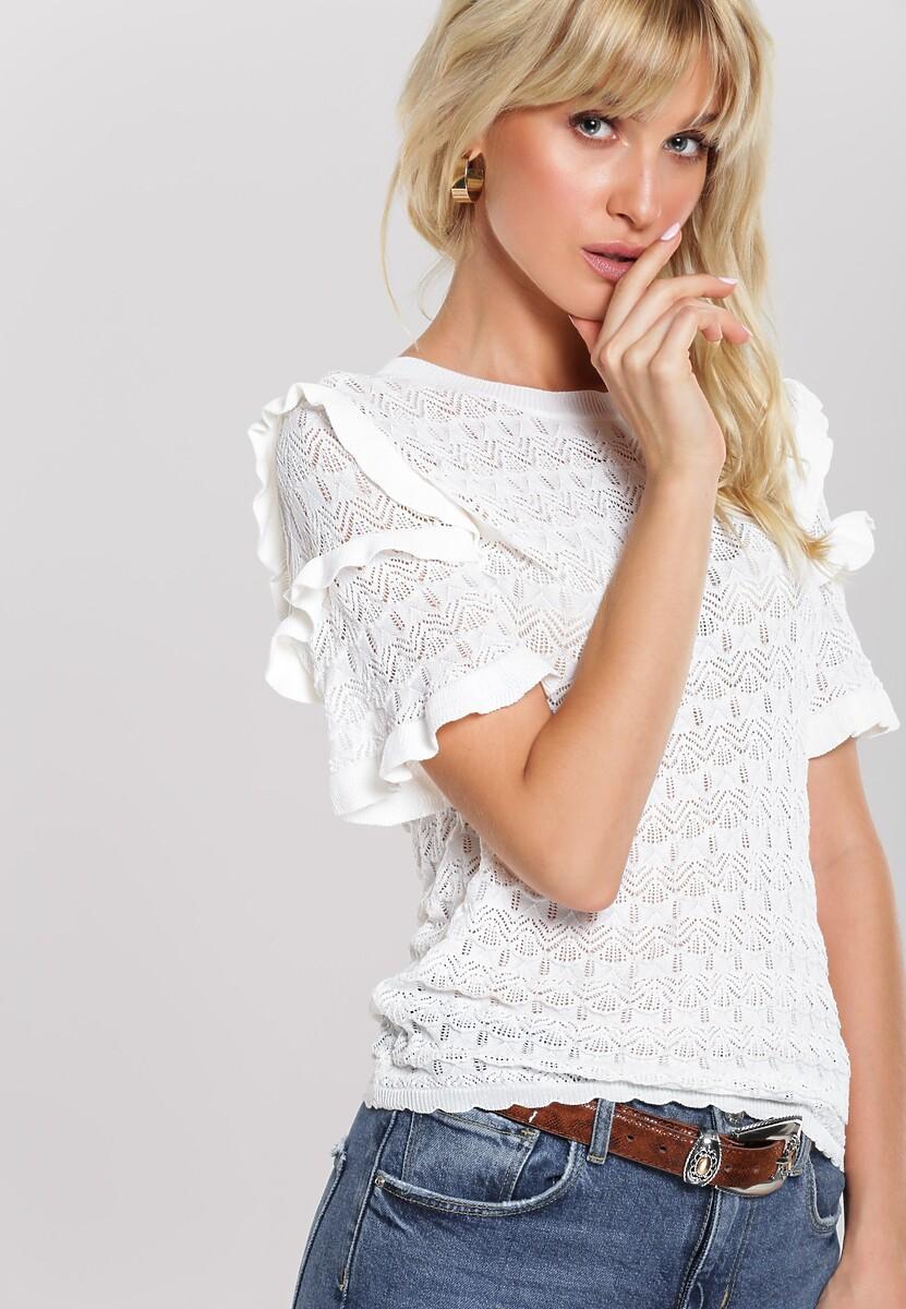 Biała Bluzka Heston